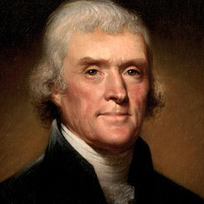 Thomas Jefferson president